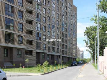 Придомовая территория (вид со стороны ул. Колпакова)